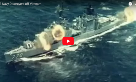 US Navy Destroyers off Vietnam