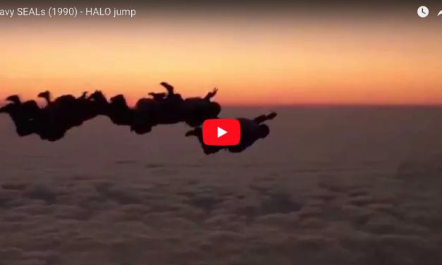 Navy SEALs (MOVIE 1990) – HALO jump scene