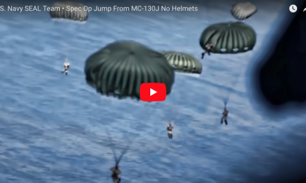 U.S. Navy SEAL Team – Special Ops Jump No Helmets!
