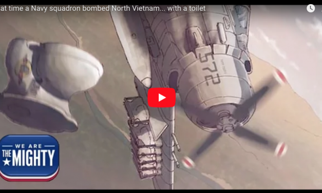 That time a Navy squadron bombed North Vietnam… with a toilet