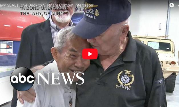 Navy SEALs Give Back to Vietnam Combat Interpreter