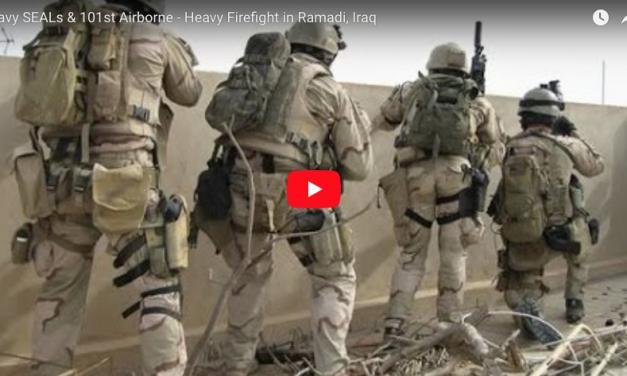 Navy SEALs & 101st Airborne – Heavy Firefight in Ramadi, Iraq