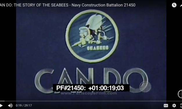 Can Do: The Story of the SEABEES – Navy Construction Battalion