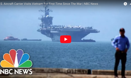 U.S. Aircraft Carrier Visits Vietnam For First Time Since The War