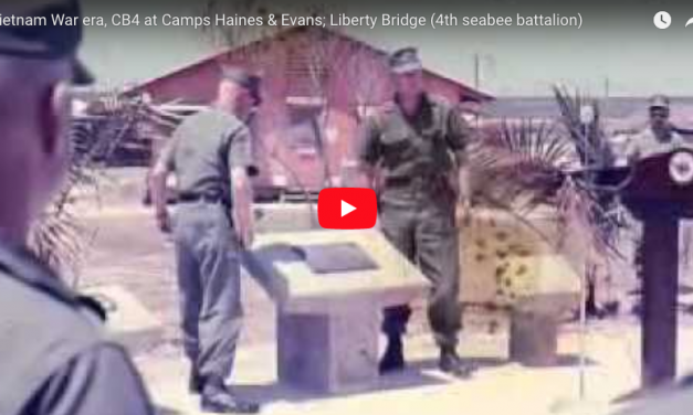 Vietnam War era, CB4 at Camps Haines & Evans; Liberty Bridge (4th seabee battalion)