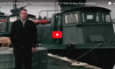 """The Small Boat Navy"" – Vietnam Patrol Boats 1968 US Navy"