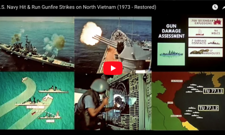 U.S. Navy Strikes on North Vietnam (1973 – Restored)