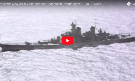 "Battleship New Jersey, Vietnam War: ""American Dreadnought"" 1968 US Navy"