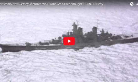 """Battleship New Jersey, Vietnam War: """"American Dreadnought"""" 1968 US Navy"""