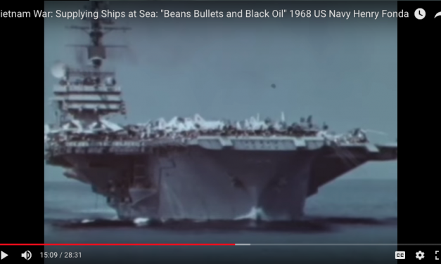 "Supplying Ships at Sea: ""Beans, Bullets and Black Oil"" US Navy Vietnam"