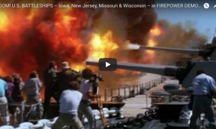 US BATTLESHIPS – Iowa, New Jersey, Missouri & Wisconsin Firepower Demonstrations
