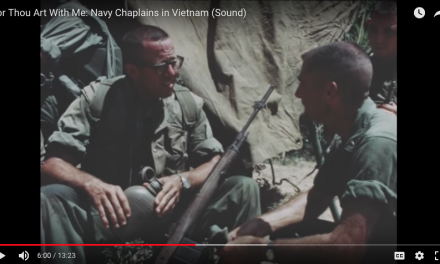 For Thou Art With Me: Navy Chaplains in Vietnam Speaking to Marines