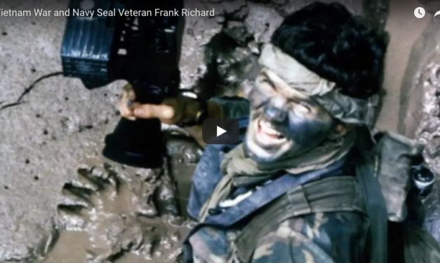Vietnam War and Navy Seal Veteran Frank Richard