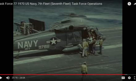 Task Force US Navy, 7th Fleet Task Force Operations – USS Kitty Hawk, CV-63, is also featured.