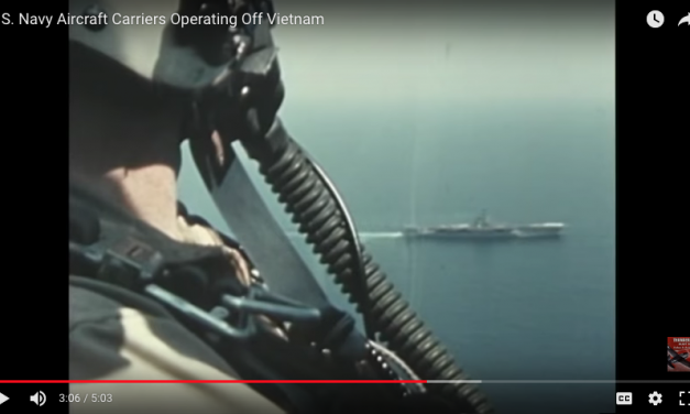 US Navy Aircraft Carriers Operating off of the Vietnam Coast