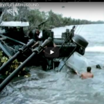 US Patrol Boat in River Clash