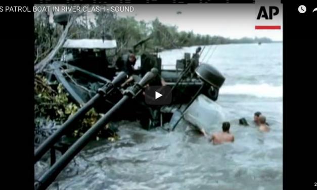 US Patrol Boat in River Clash