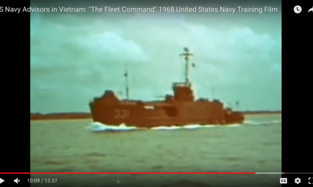 "US Navy Advisors in Vietnam: ""The Fleet Command"" Training Film"