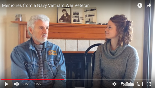 Memories from a Navy Vietnam War Veteran