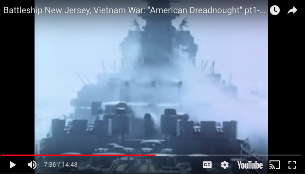 "Battleship New Jersey, Vietnam War: ""American Dreadnought"""