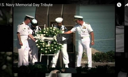 U.S. Navy Memorial Day Tribute