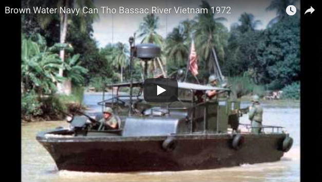 Brown Water Navy Can Tho Bassac River Vietnam