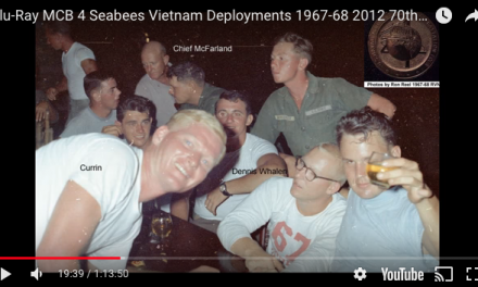 Deployment: MCB 4 Seabees go to Vietnam 1967-68